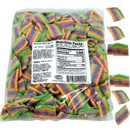 Sour Rainbow Mini Belts 2.2lb Bag