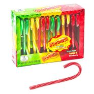 Starburst Candy Canes 12 Count