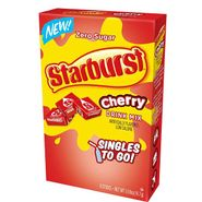 Starburst Singles To Go Zero Sugar Drink Mix, Cherry 6 CT