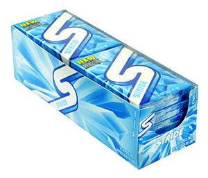 Stride Sugar Free Gum 10ct - Icy Mint