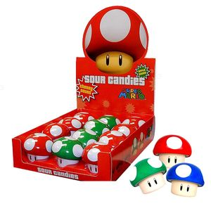 Super Mario Sour Candy Tins 12 Count