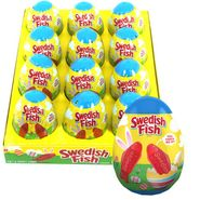 Swedish Red Fish Filled Eggs 12 Count
