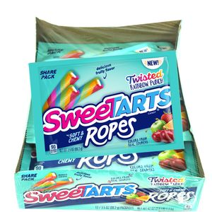 SweeTart Ropes Twisted Rainbow 12 Count