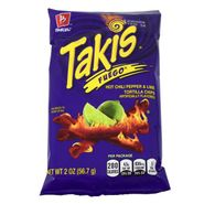 Takis Fuego Hot Chili Pepper & Lime Chips 2oz