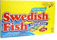 Theater Size / Movie Size Candy - Swedish Fish Assorted