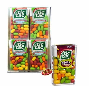 Tic Tac Fruit Adventure 12 Pack
