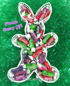 Bunny Filled With Tootsie Frooties