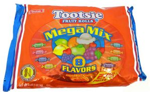 Tootsie Mini Fruit Rolls Mega Mix 275 Count