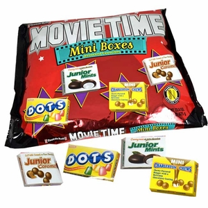 Tootsie Movie Time Assorted Mini Candy 45 Count