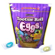 Tootsie Roll Eggs Wrapped 23oz Bag