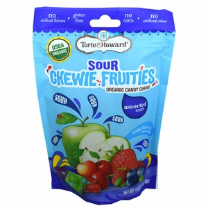 "Tori and Howard Chewie ""Sour"" Fruit Assorted 4oz Bag"