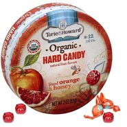 Torie & Howard Blood Orange & Honey 2oz Tin 8 Count