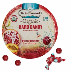 Torie & Howard Organic Pomegranate & Nectarine 8 Count