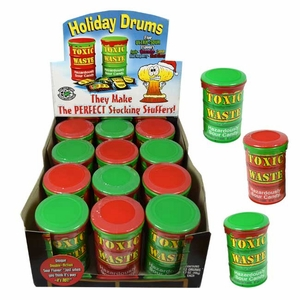 "Toxic Waste ""Holiday"" Drums 12 Count"