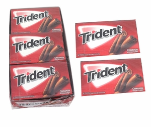 Trident Cinnamon Value Pk 12ct
