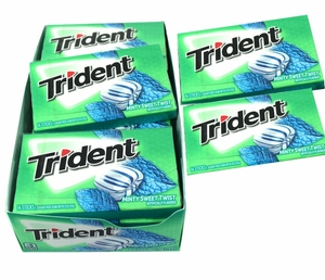 Trident Minty Sweet Twist 12 Count