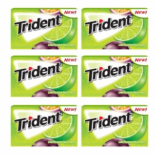 Trident Lime passion Fruit 12 Count