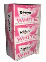 Trident White Minty Bubble 9 Count