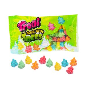 Trolli Sour Brite Christmas Trees 9oz bag