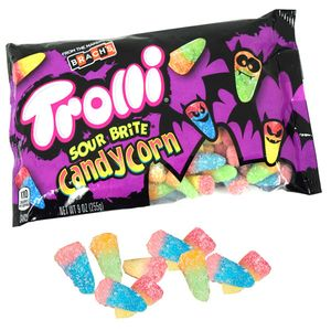 Trolli Sour Brite Crawler Candy Corn 9oz