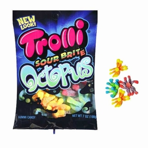 Trolli Sour Gummy Octopus 4.25oz Bag