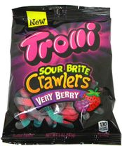 Trolli Sour Worms Very Berry Flavor 5oz Bag