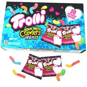 Trolli Valentine's Sour Brite Crawlers Mini  20 Packs