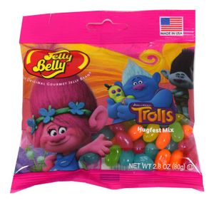 Trolls Jelly Belly Jelly Beans 2.8oz Bag