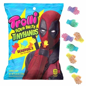 Trolli Sour Tiny Hands 4.25oz Bag Deadpool 2