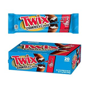 Twix Cookies & Creme King 20 Count