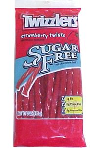 Twizzler Sugar Free Strawberry Licorice Twists