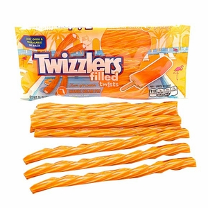 Twizzlers Orange Cream Licorice 11oz Bag