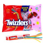 Twizzlers Pull 'n' Peel Licorice Strawberry Blast 10.12oz (24 Count)