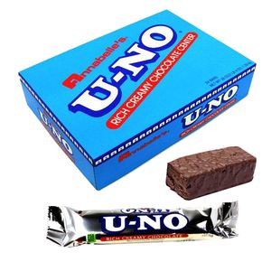 U-NO Chocolate Bars 24 Count
