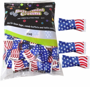 USA Flag Wrapped Mints 56 Count