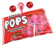 Valentine's Day Cherry Tootsie Pops  16 Count