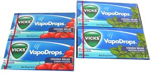 Vicks Cough Drops 20 Count Choose Flavor