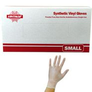 Vinyl Disposable Gloves Powder Free Small 100 Count