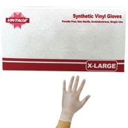 Vinyl Disposable Gloves Powder Free XL 100 Count