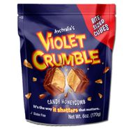Violet Crumble Cubes 6oz Bag