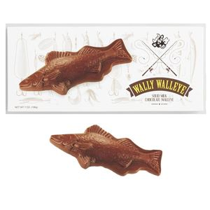 Wally Walleye Chocolate Fish 7oz