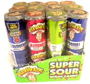 WarHeads Super Sour Spray 12ct