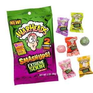 Warheads Sour Smash Ups 3.25oz Bag