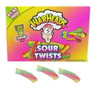 Warheads Sour Twists 3.5oz Box