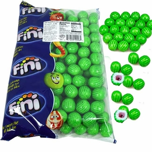 Watermelon Giant Gum Balls 5lb Bag