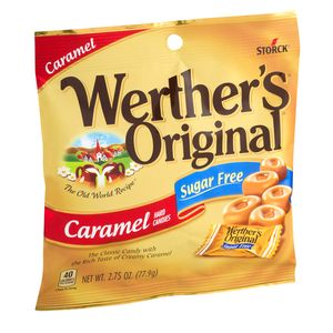 "Werther's ""Sugar Free"" 2.75oz Bag"