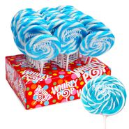 Whirly Pops Lite Blue & White 24 Count Adams & Brooks