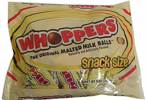 Whoppers Malted Milk Balls Snack Size Bags