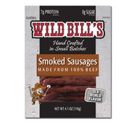 Wild Bills Smoked Sausage 4.1oz Bag