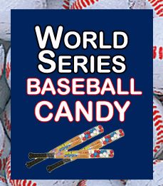 World Series Baseball Candy